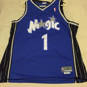 Orlando magic tracy McGrady Jersey sz L +2in lengt